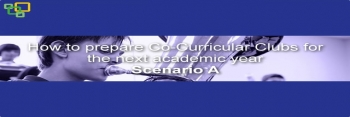 How to prepare Co-Curricular Clubs for the next academic year - Scenario A